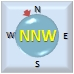 Vento da NNW